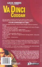 Va dinci coddah - 4ème de couverture - Format classique