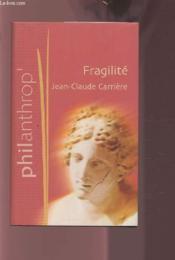 Fragilité - Couverture - Format classique