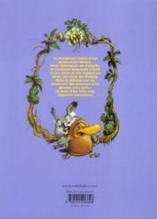 Toto l'ornithorynque et le maître des brumes - 4ème de couverture - Format classique