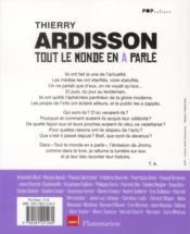 Tout Le Monde En A Parle - 4ème de couverture - Format classique