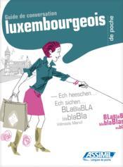 Guides de conversation ; luxembourgeois de poche - Couverture - Format classique