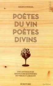 Poètes du vin, poètes divins - Couverture - Format classique