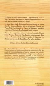 Poètes du vin, poètes divins - 4ème de couverture - Format classique