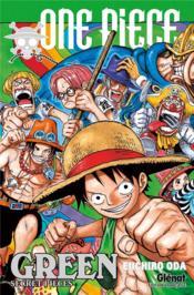 One Piece ; green ; secret pieces - Couverture - Format classique