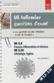 Ue infirmier questions d'exam - Couverture - Format classique