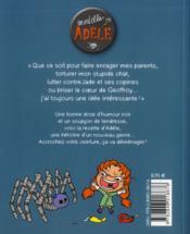 Mortelle Adèle T.1 ; tout ça finira mal - 4ème de couverture - Format classique