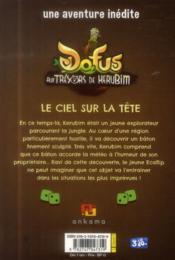 Dofus aux trésors de Kérubim t.1 ; le ciel sur la tête - 4ème de couverture - Format classique