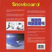 Le Snowboard - 4ème de couverture - Format classique