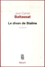 Le divan de Staline - Couverture - Format classique
