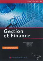 Manuel gestion et finance terminale stmg - Couverture - Format classique