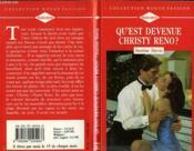 Qu'Est Devenue Christy Reno ? - Upon The Storm - Couverture - Format classique