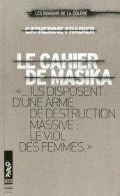 Le cahier de Masika - Couverture - Format classique
