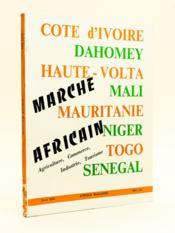 Afrique Magazine Avril 1970 : Marché Africain. Agriculture, Commerce, Industrie, Tourisme. - Couverture - Format classique