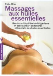 Massages aux huiles essentielles - Couverture - Format classique
