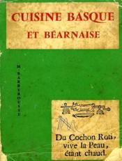 Cuisine Basque Et Bearnaise - Couverture - Format classique