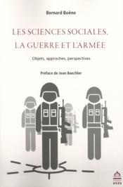 Sciences sociales la guerre et l armee - Couverture - Format classique