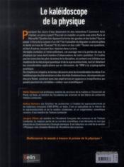 Le kaléidoscope de la physique - 4ème de couverture - Format classique