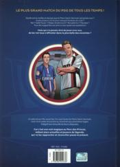 PSG all stars - 4ème de couverture - Format classique