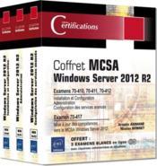 MCSA windows server 2012 R2 ; coffret ; préparation aux examens 70-410, 70-411, 70-412 et 70-417 - Couverture - Format classique