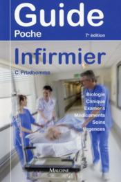 Guide poche infirmier, 7e ed. - Couverture - Format classique