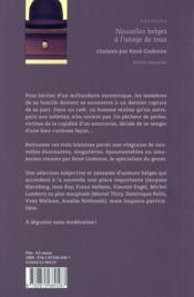 Nouvelles belges à l'usage de tous - 4ème de couverture - Format classique