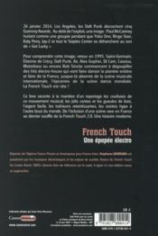 French touch ; une épopée électro - 4ème de couverture - Format classique