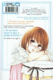 Mangaka & editor in love t.4 - 4ème de couverture - Format classique