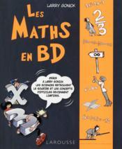 Les maths en BD t.1 ; l'algèbre - Couverture - Format classique