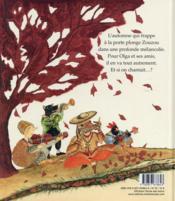 Zouzou et le tourbillon de l'automne - 4ème de couverture - Format classique