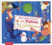 Mon grand livre des fables de la Fontaine - Couverture - Format classique
