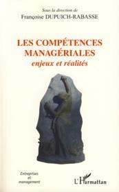 Les compétences manageriales ; enjeux et réalités - Couverture - Format classique