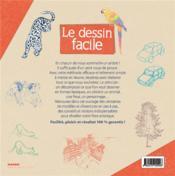 Le dessin facile ; des créations réussies tout simplement ! - 4ème de couverture - Format classique