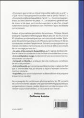 Éthologue équine ; 90 conseils - 4ème de couverture - Format classique