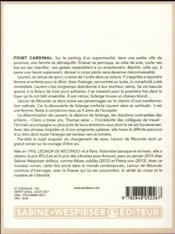 Point cardinal - 4ème de couverture - Format classique