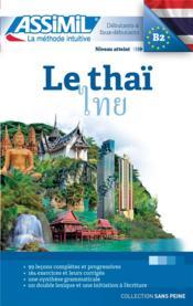 Le thaï ; débutants et faux-débutants B2 - Couverture - Format classique