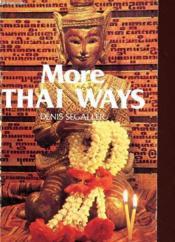 More Thai Ways - Couverture - Format classique