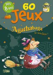 Agathabaga la sorcière ; bloc de 60 jeux - Couverture - Format classique