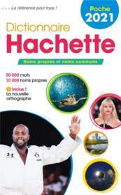 Dictionnaire Hachette français poche (édition 2021) - Couverture - Format classique