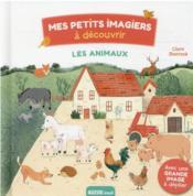 Mes petits imagiers à découvrir ; les animaux - Couverture - Format classique