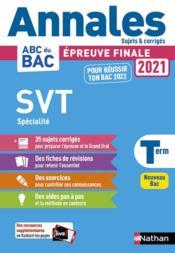 Annales ABC du bac ; sujets & corrigés T.25 ; science et vie de la terre : terminale (édition 2020) - Couverture - Format classique