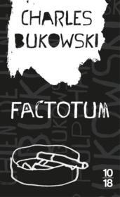 Factotum - Couverture - Format classique