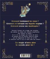L'abécédaire de la magie - 4ème de couverture - Format classique