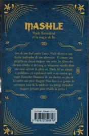 Mashle T.2 - 4ème de couverture - Format classique