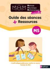 Mhm - guide des seances + ressources ms - Couverture - Format classique