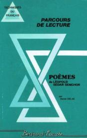 Poemes De Leopold Sedar Senghor - Parcours De Lecture - Couverture - Format classique