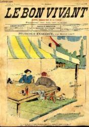 Le bon vivant n°357 - Prudence exagérée - Couverture - Format classique