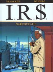I.R.$ t.4 ; narcocratie - Intérieur - Format classique