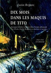 10 Mois Dans Le Maquis De Tito - Intérieur - Format classique
