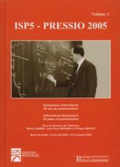 Isp5 - Pressio 2005. Symposium International 50 Ans De Pressiometres - Couverture - Format classique