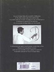 Jasper Johns - 4ème de couverture - Format classique